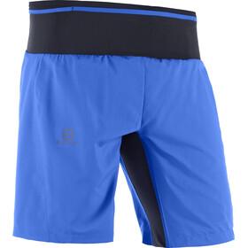 Salomon Trail Runner Løbeshorts Herrer, nautical blue